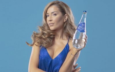 Енджи Касабие избра изворна вода ЕГО